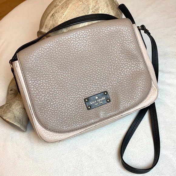 Kate Spade Flap Shoulder Bag Cobble Purse handbag